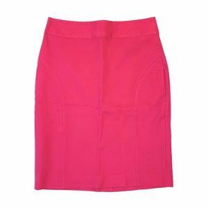 Banana Republic Hot Pink Pencil Skirt Fuchsia 6